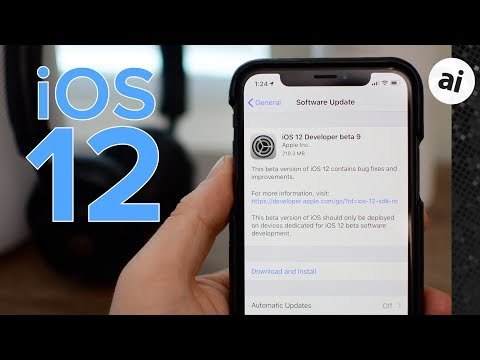 Apple issues twelfth iOS 12 beta for developers, tenth public beta