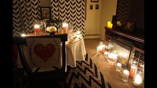 THE MOST ROMANTIC DINNER (Valentines Day Idea) MADGE & STEVENS