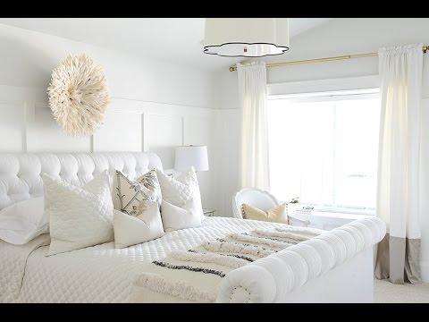 Beyaz Yatak Odası Fikirleri