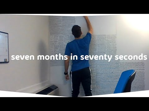 7 months of studying in 70 seconds   Patent Bar Exam - YouTube