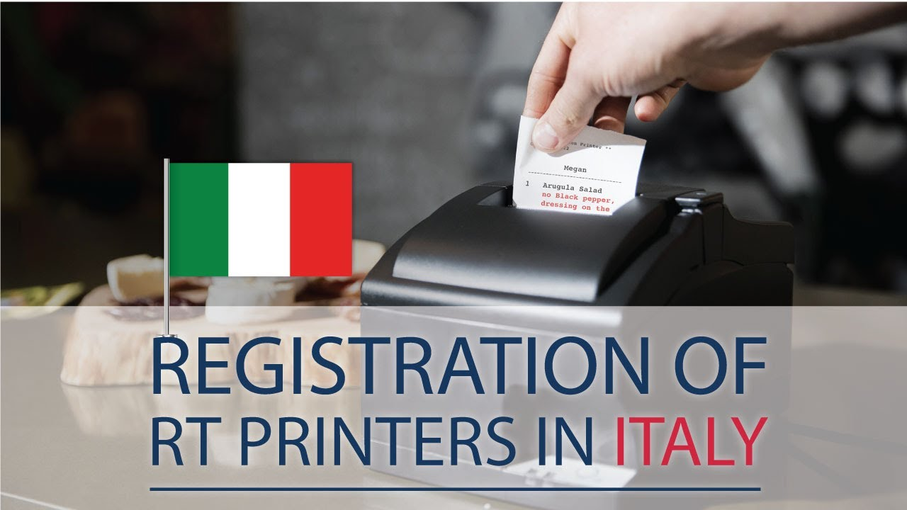 Fiscalization in Italy: Registration of RT printers at the authorities