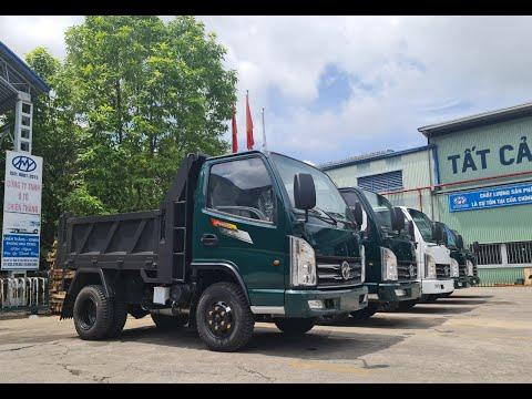 Xe tải ben 2.4 tấn thùng 2.3 khối | xe ben chiến thắng | thegioixeviet.vn | 0947717818