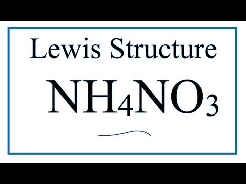 NH4+ Lewis Structure - How to Draw the Dot Structure for NH4+