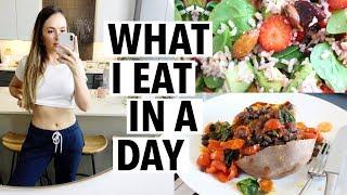 What i eat in a day TO LOSE WEIGHT - healthy fat loss & quick meal ideas!