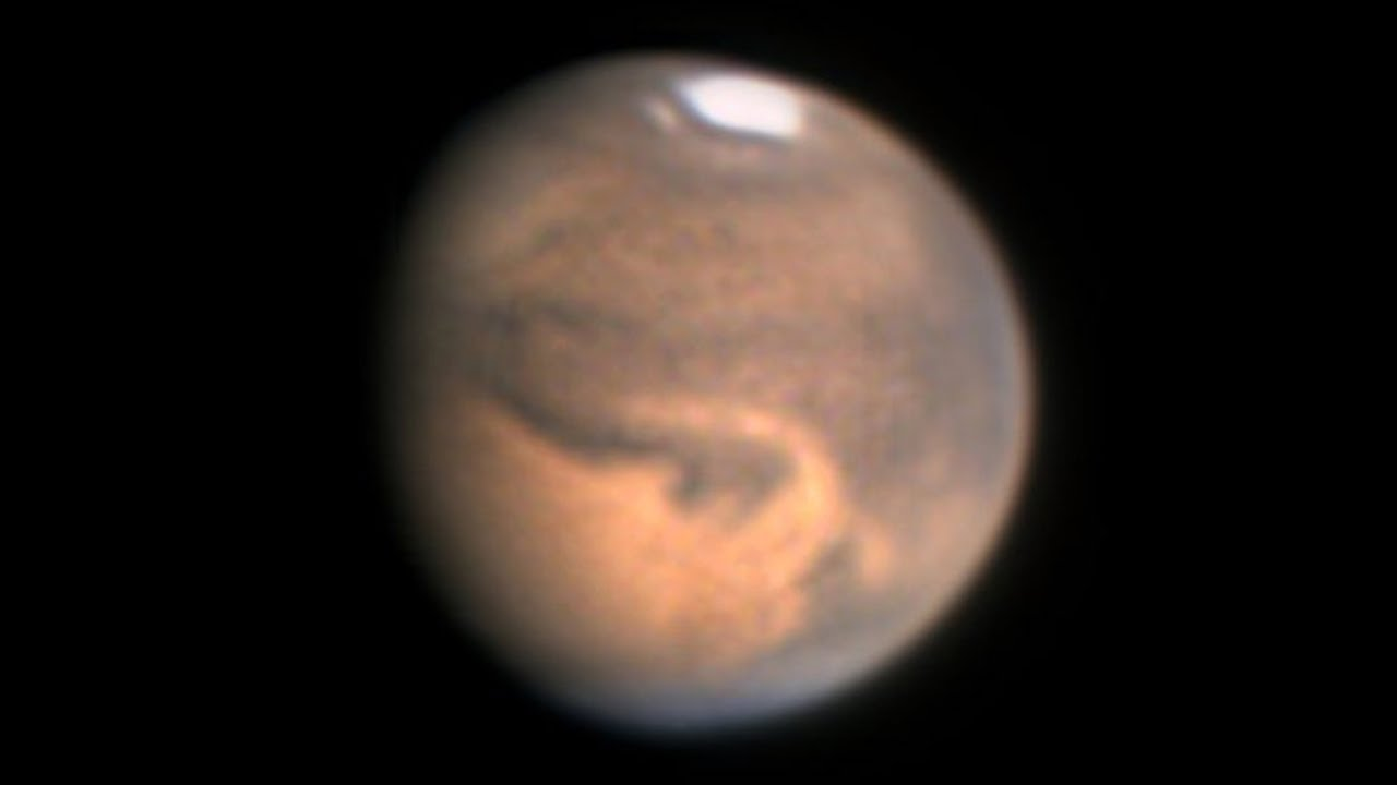 Video: Mars erfolgreich beobachten - so geht's!