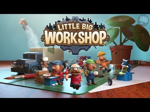 Gameplay de Little Big Workshop