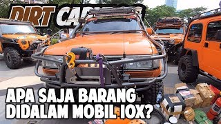 BANYAK BGT TERNYATA YANG DIBAWA DIDALEM MOBIL! | SCRUT IOX 2019 ANDALAS | DIRT CARVLOG #65
