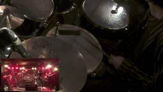 Judas Priest  Exciter エキサイター バンドでたたいてみた。H28 0828 レアメタル