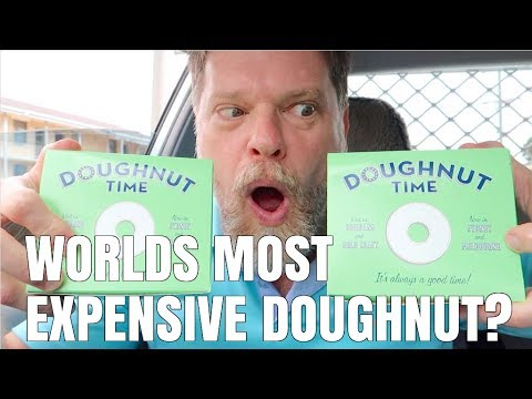 DOUGHNUT TIME FOOD REVIEW… $6.70 Doughnut's!?!?!??! – Fast Food Friday – Greg's Kitchen