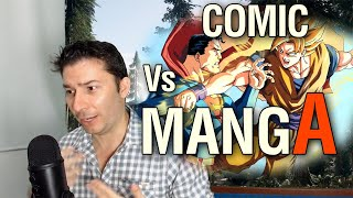 MANGA VS COMIC Las Razones Del éxito De Oriente. - IvanchoV -