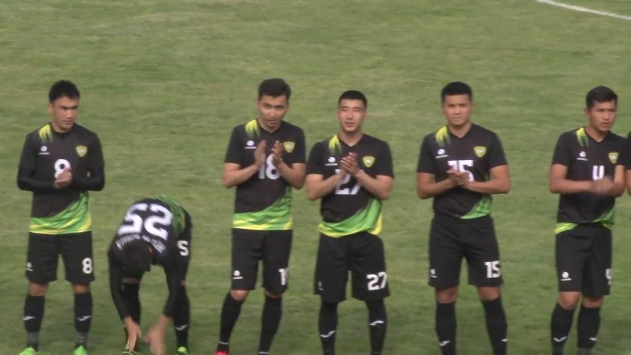 Топ-Лига-2017. Матч#14 Кара-Балта – Алай 1:6