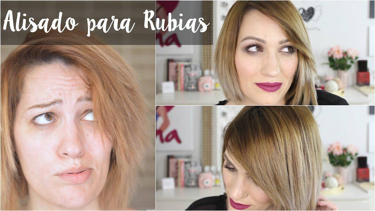 Pelo liso perfecto para Rubias (Patrocinado por Brasil y Belleza)
