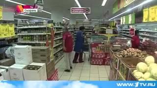 Подборка приколов №11: Драки в магазине.  Russian fighting in the store