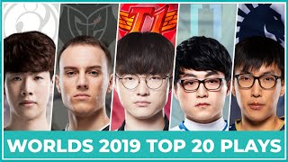 Top 20 Best Plays Worlds 2019 - Group Stage