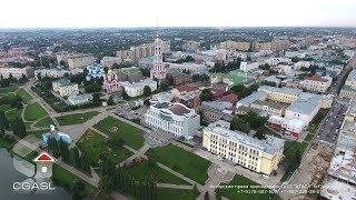 Тамбов (аэросъемка набережной реки Цна)/Tambov (aerial view the seafront of the river Tsna)