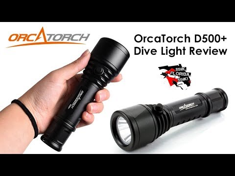 OrcaTorch D500+ Dive Light Review