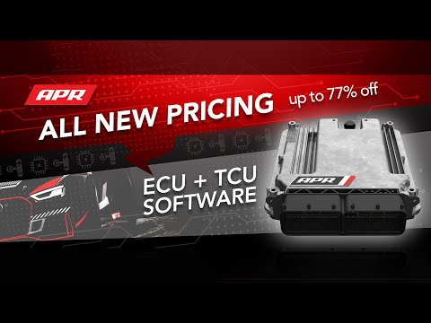 All New APR ECU and TCU Upgrade Pricing!