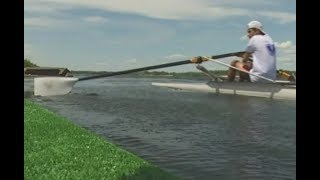 Сильный ветер и 5 часов на воде - большие соревнования по академической гребле