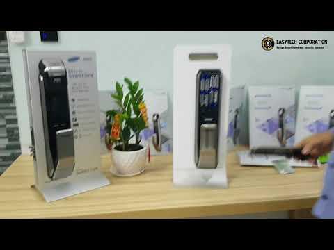 Giới thiệu Khóa Samsung DP728/718 - tích hợp vào SmartHome EasyTech