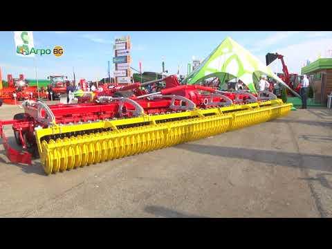Bulagro Machines at Bata Agro 2018 - reportage of Agro TV