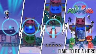 """PJ Masks Game """"Time To Be A Hero"""" with Ollie!"""