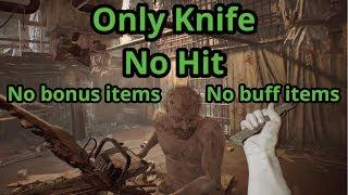 Resident Evil 7   Boss Jack (Madhouse   Only Knife & No Hit  No Bonus Or Buff Items)
