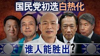 海峡论谈:国民党初选白热化谁人能胜出?