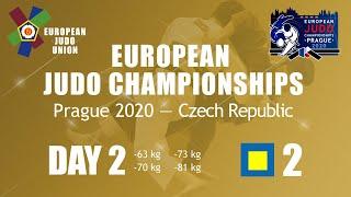 Day 2: Tatami 2 - European Judo Championships 2020