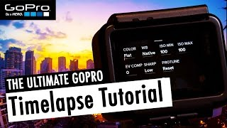 The ULTIMATE Timelapse Tutorial for GoPro HERO5 Black (incl. Lightroom & FCPX) | RehaAlev
