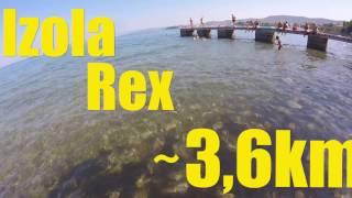 POSM *7* Izola-Rex (3,6 Km) - Plavalna odiseja Slovenskega morja 7 del