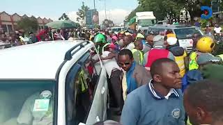 Raila Odinga's aides in gun drama with traffic police in Nakuru