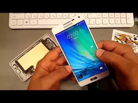 BOOM!!! How to Open / Disassembly Samsung A5 2015 SM-A500F.Without broke display.