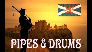 ⚡️Scotland the Brave Extended ♦︎ Pipes & Drums⚡️