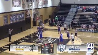 Rochester Boys Freshman Basketball vs Whitko