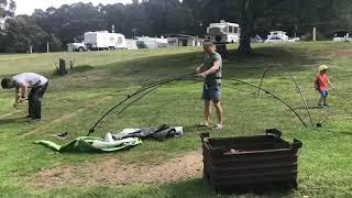 Coleman Event Shelter Real Time Setup Delux