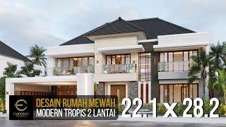 Video Mr. Daniel Modern House 2 Floors Design - Bengkulu