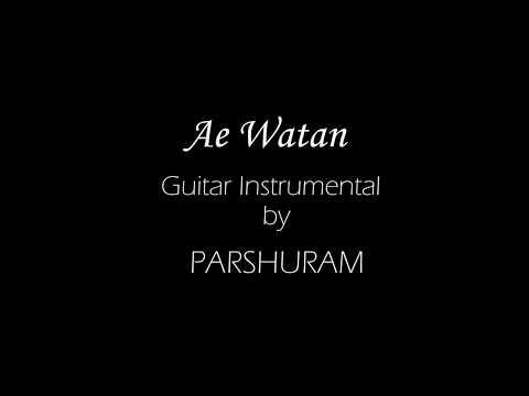 Ae Watan from Raazi- Guitar Instrumental - Solo and Rhythm