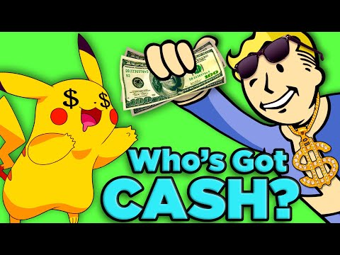 Download Pokemon vs Fallout! Who's Getting PAID?| The SCIENCE of... Video Game Millionaires HD Mp4 3GP Video and MP3
