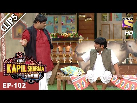 Hilarious Fight Between Kappu Sharma & Dhoodhwala - The Kapil Sharma Show - 30th Apr, 2017
