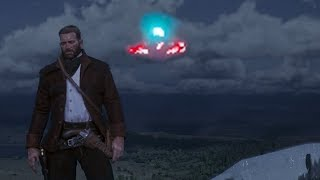 SECOND UFO FOUND in Red Dead Redemption 2 (Mt. Shann UFO Mystery)