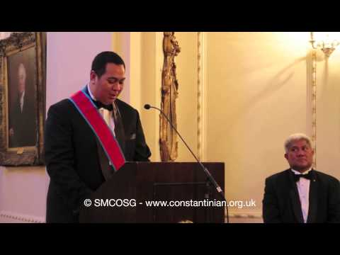 Constantinian Order 2012 – Crown Prince & Crown Princess of Tonga Investiture