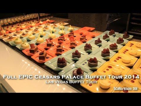 [HD] Epic Buffet in the World - Bacchanal Buffet Tour - Caesar Palace Buffet - Las Vegas Buffet Tour