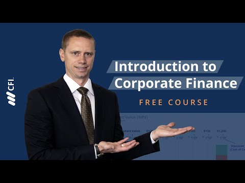 Introduction to Corporate Finance - FREE Course