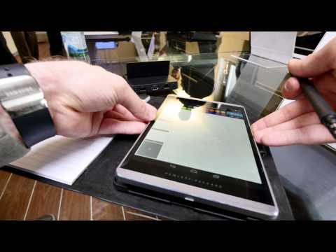 HP Slate 8 Pro Hands On [4K]