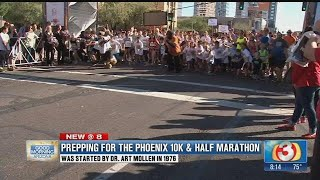 Prepping for the Phoenix 10K race
