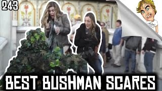 BEST OF The Bushman Scare Prank Funny Video! #243 | Ryan Lewis Pranks