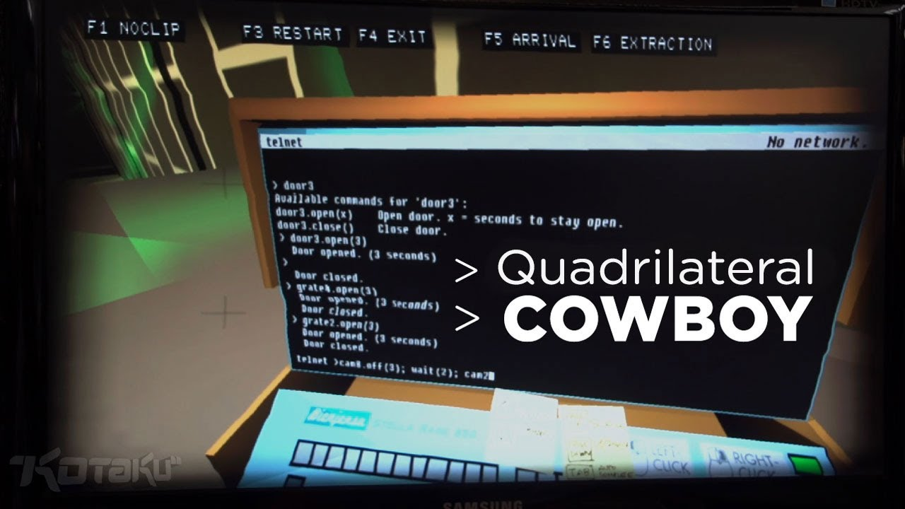 The Game That Amazed Us The Most At PAX East: Quadrilateral Cowboy