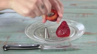 Frutillas Rellenas   Recetas Rápidas