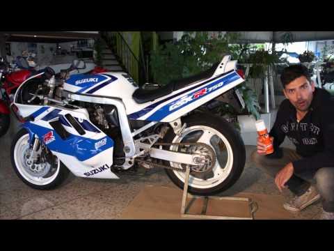 Motorrad Kettenreinigung + Kettenschmierung mit HKS | Anleitung