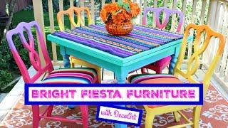 HOW TO: Bright Fiesta Furniture